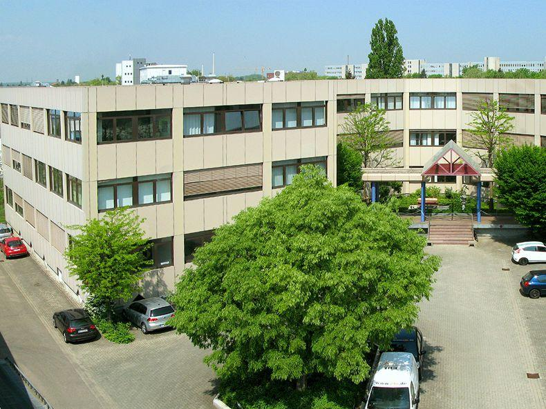 Büro in Karlsruhe West mit Anbindung an B36 und Südtangente
