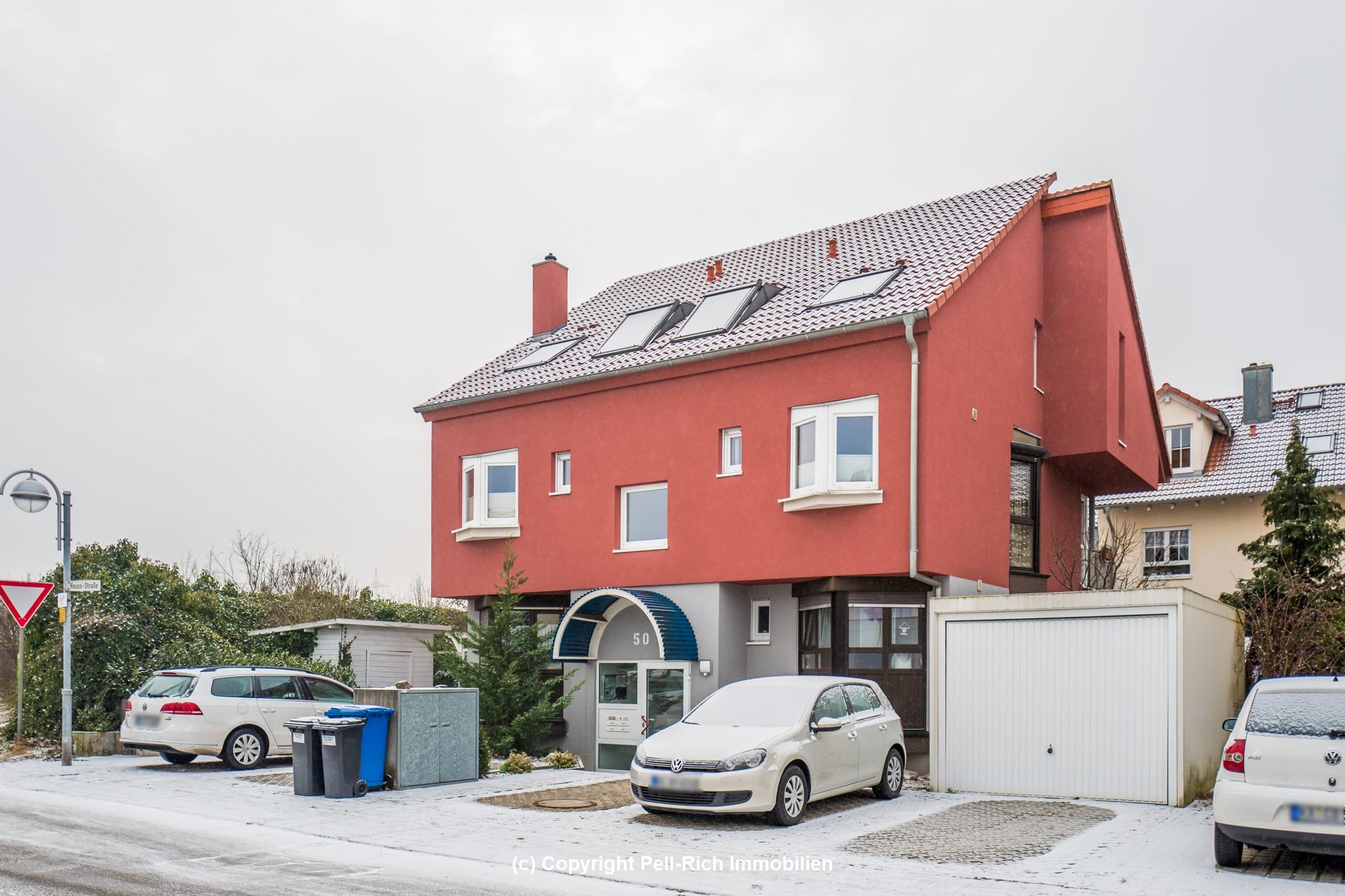 Maisonette-Wohnung: 3,5 Zimmer in moderner Wohngemeinschaft mit Garten (ca. 70m²) und Stellplatz