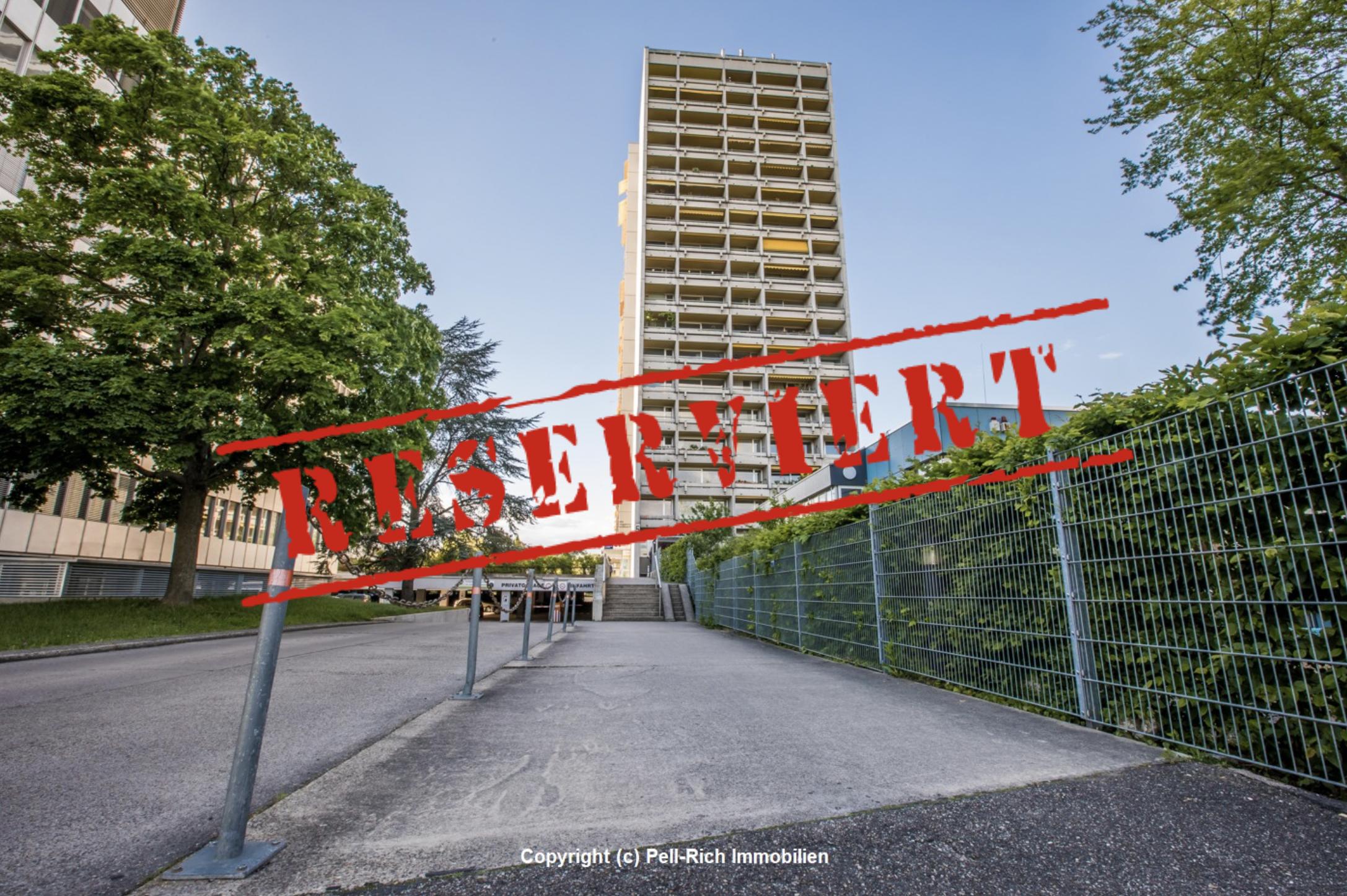 -derzeit reserviert- BLICKFANG – Vermietete und gepflegte Wohnung mit Weitblick in KA-Rüppurr!
