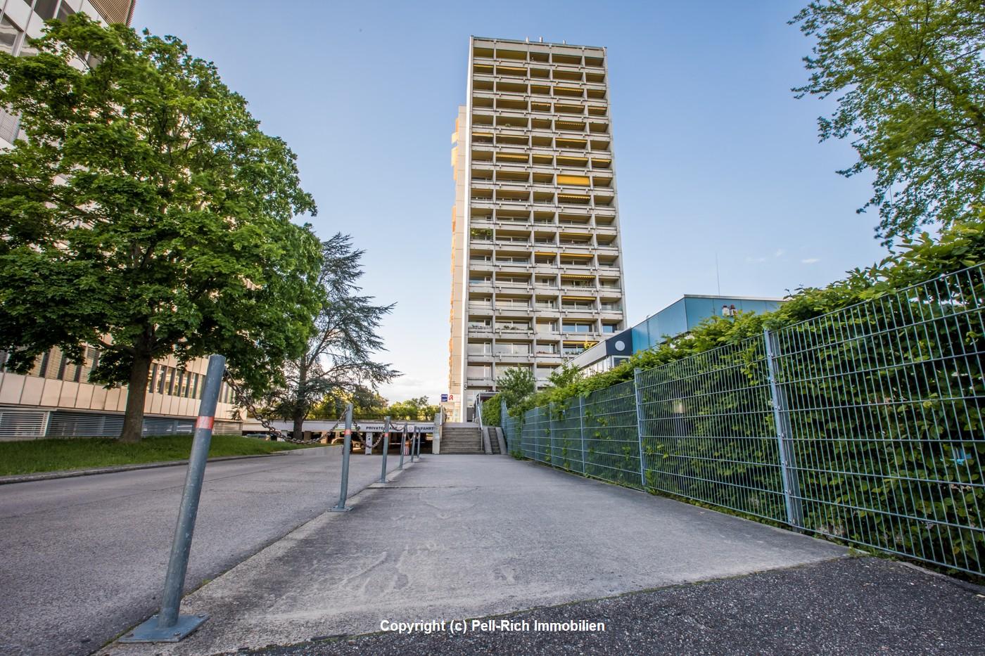 BLICKFANG – Vermietete und gepflegte Wohnung mit Weitblick in KA-Rüppurr!