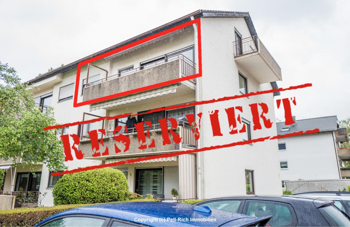 -derzeit reserviert- BALKONLIEBLING: Renovierte und bezugsbereite 3-Zimmer Wohnung in gepflegtem MFH für Eigennutzer!