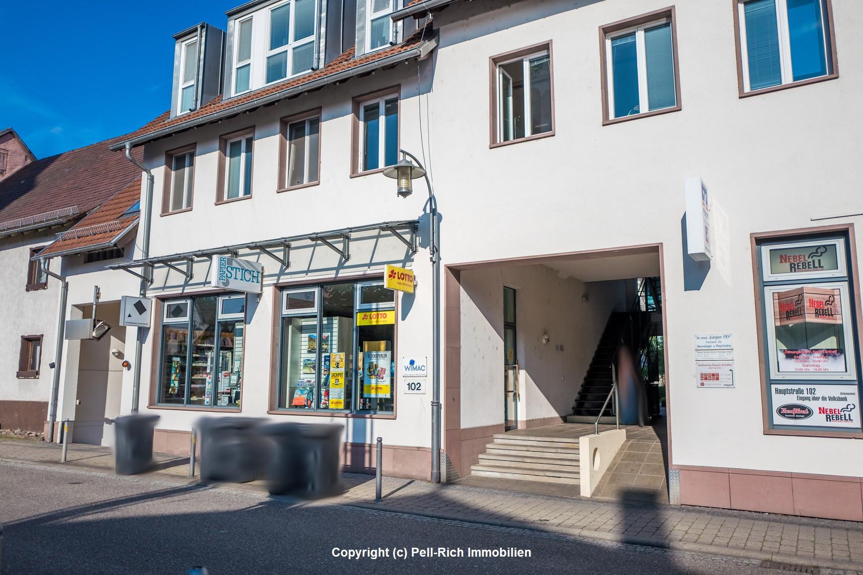 ZENTRAL: Ladengeschäft inkl. 3 TG-Stellplätzen im Herzen von Blankenloch zu veräußern!