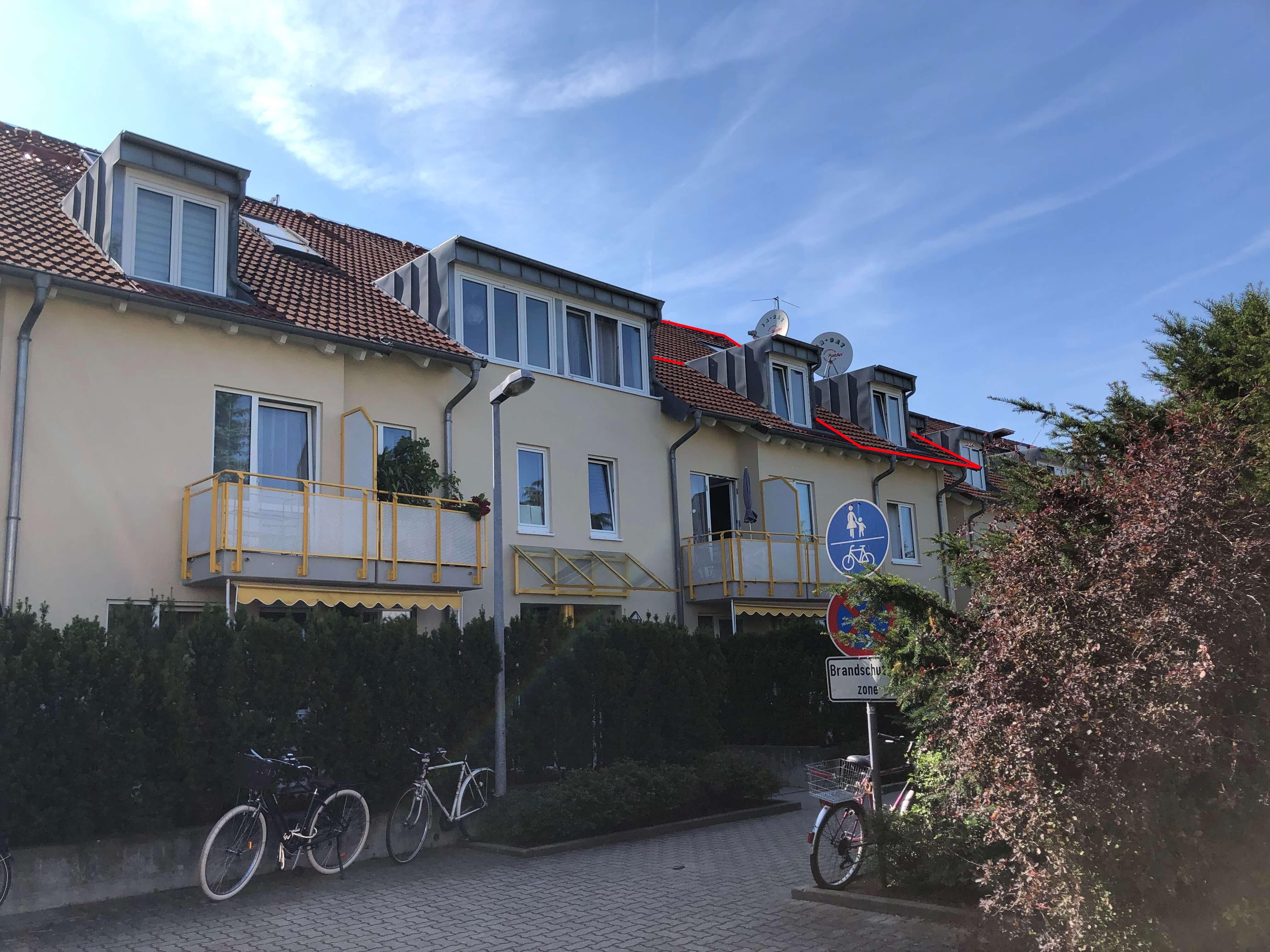 RENDITEWUNDER: Maisonette Wohnung in Neureut, top vermietet und frei werdend inkl. TG-Stellplatz