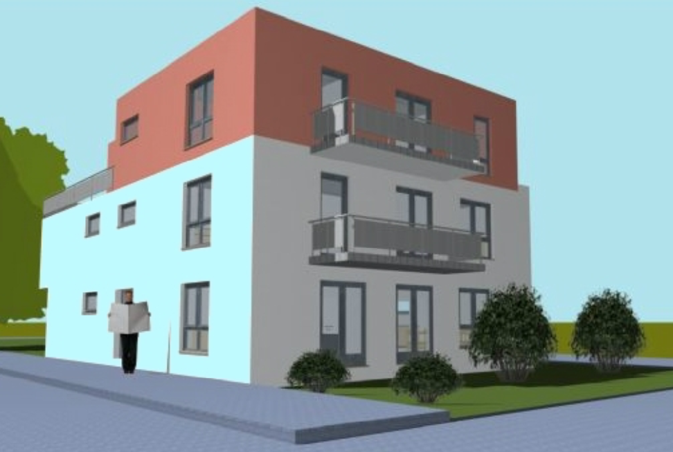 BARRIEREFREI: 4-Zimmer EG-Neubauwohnung mit 2 Terrassen in der Nordweststadt zu veräußern!
