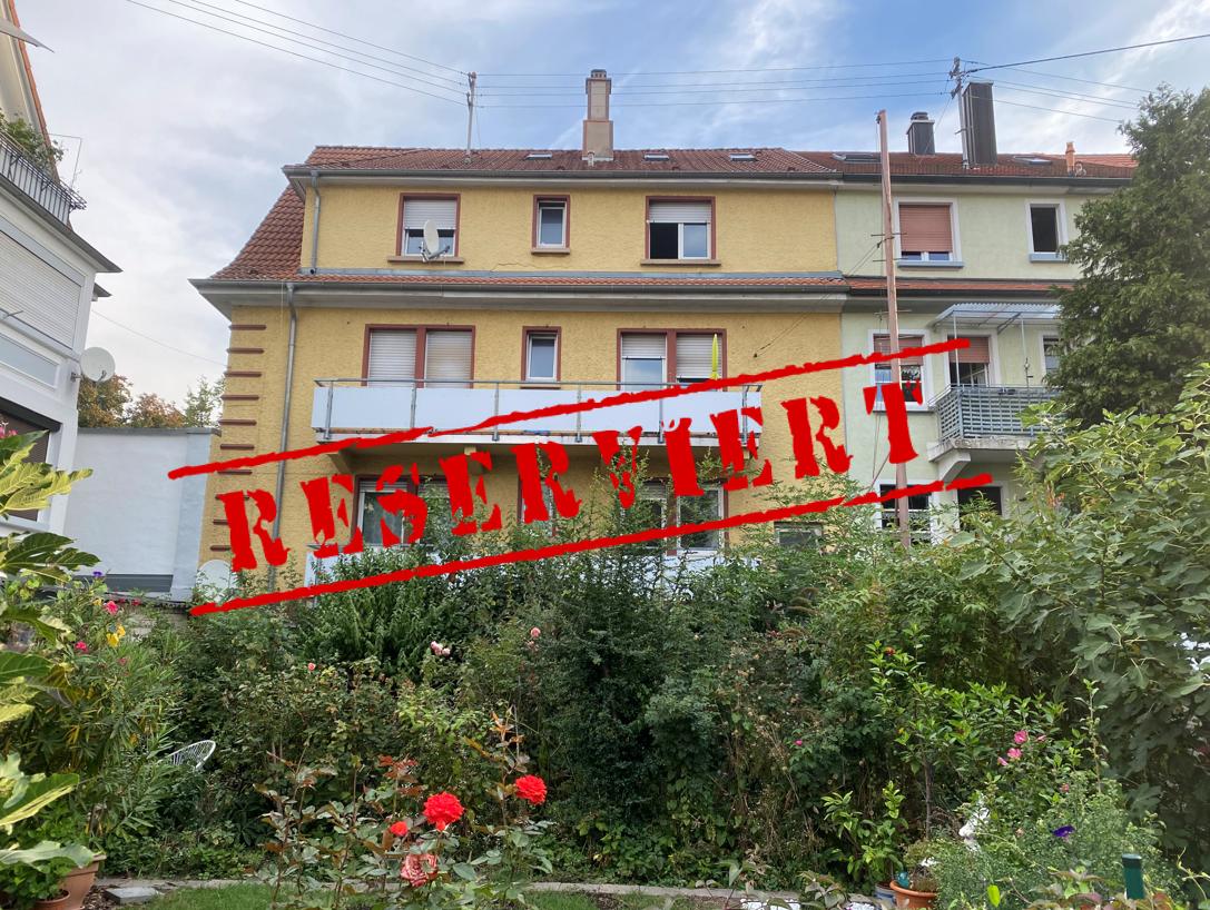 -derzeit reserviert- FLEXIBILITÄT HOCH 4: Leerstehendes vier-Parteien Haus in gefragter Lage von Karlsruhe-Durlach