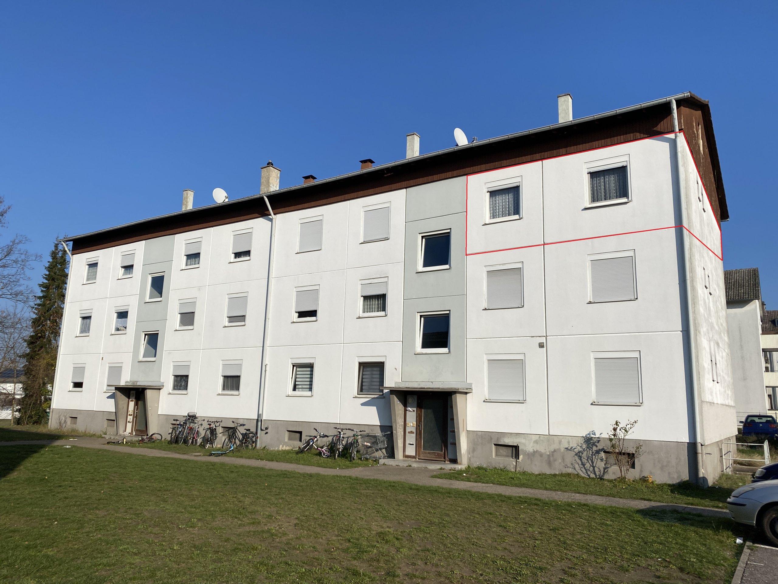 BEZUGSFREI – Helle 3-Zimmer Wohnung mit Balkon KÄUFERPROVISIONSFREI