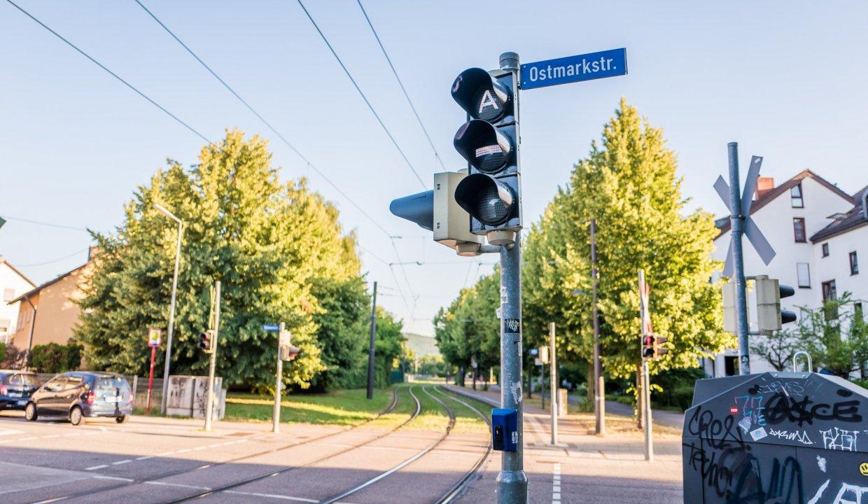S-Bahn Haltestelle Ostmarkstraße