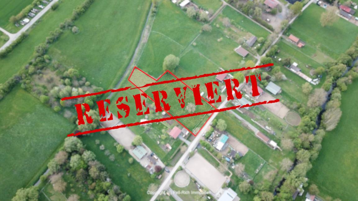 -derzeit reserviert- LANDLUFT: Pferdeliebhaber und Landwirte aufgepasst! Grundstück (Landwirtschaftsfläche) sucht Käufer
