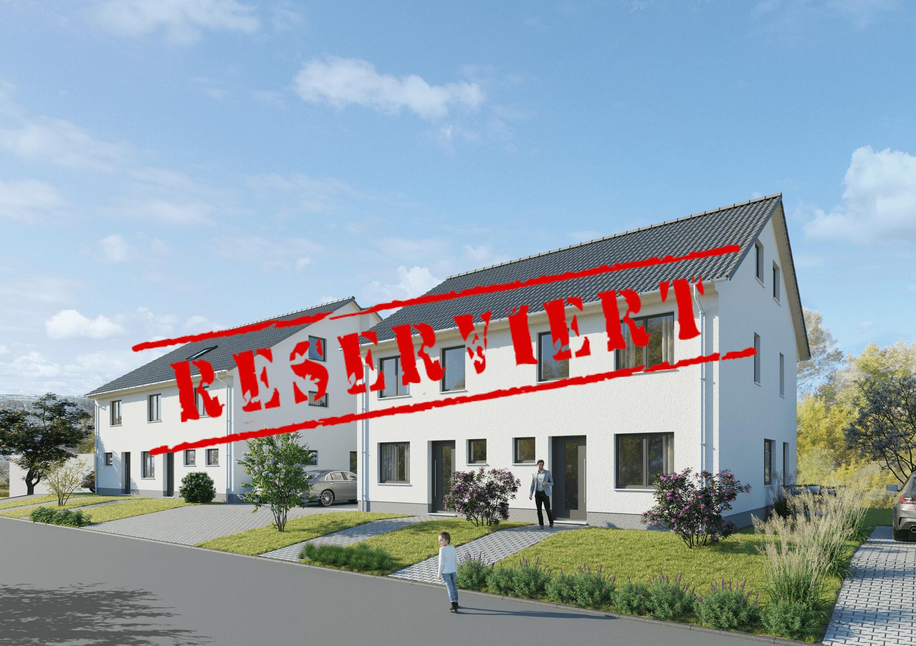 – derzeit reserviert- SEEBLICK: Nur noch eine Neubau-Doppelhaushälfte inkl. Außenstellplatz & voll unterkellert in Daxlanden verfügbar